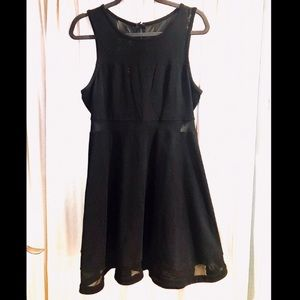Express Sleeveless Fit and Flair Dress